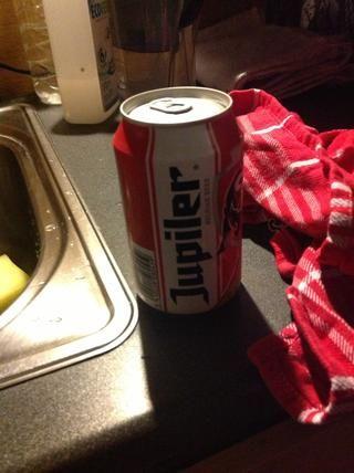 Cuando usted comienza a cansarse de ella, tomar una cerveza. Nosotros're almost there