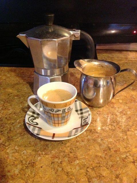 Cómo hacer que mi abuela's Cuban Coffee (Espresso) ☕ Recipe