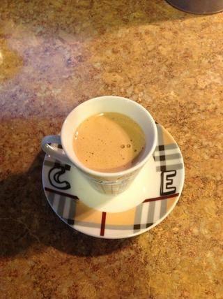 Ahora estás listo para tomar el dulce espresso
