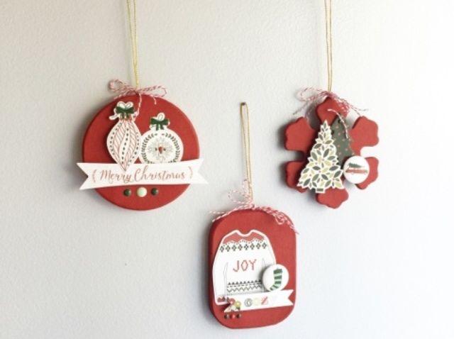Cómo hacer que mi mente's Eye Cozy Christmas Ornaments