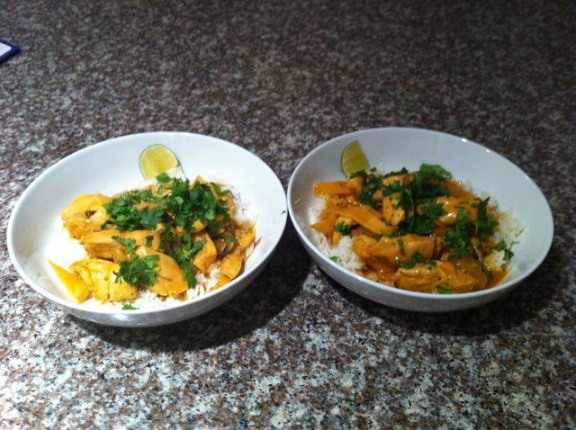 Cómo hacer que mi opinión sobre Red curry tailandés de pollo Receta