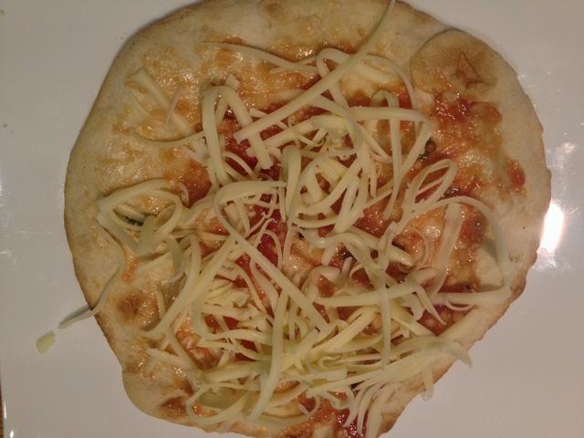 Añadir un poco de queso rallado