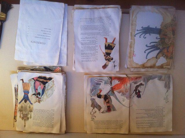 Separar las páginas y tomar algunas decisiones sobre qué partes que desea utilizar.