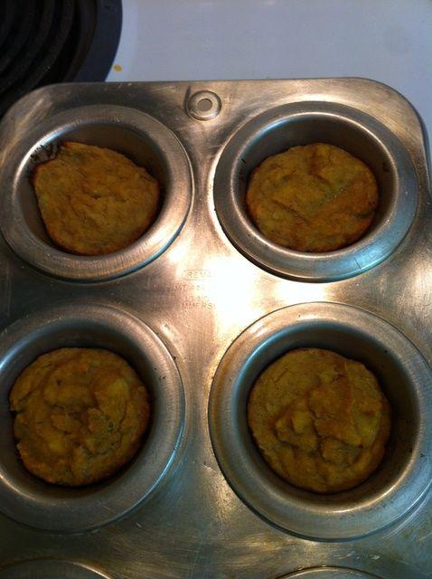 Cómo hacer Muffins Sin azúcar añadido Pan de plátano ???????????? Receta