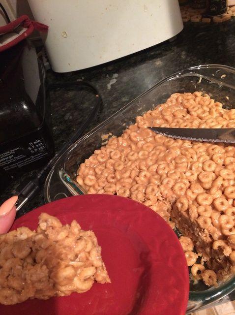 Cómo hacer ninguna cuece al horno Cheerios Bar Receta