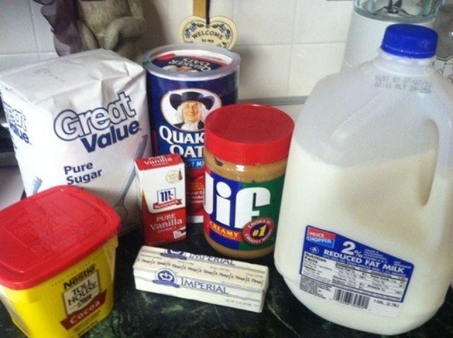 Cómo hacer ninguna cuece al horno Receta de las galletas de harina de avena