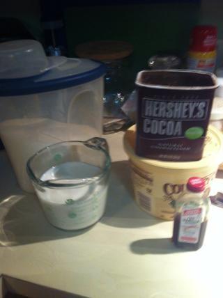 Añadir todo a la olla EXCEPTO mantequilla de maní y avena