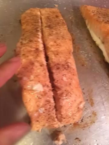 Mira cómo suculenta este looks..yummmm salmón