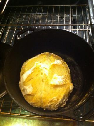 Parece que este después de 30 minutos. Retire la tapa y continuar la cocción durante 20 minutos sin cubrir.