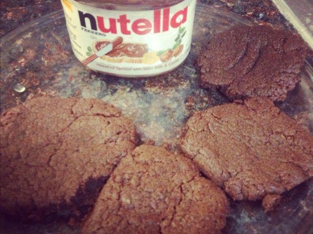 Cómo hacer galletas de Nutella !! Receta