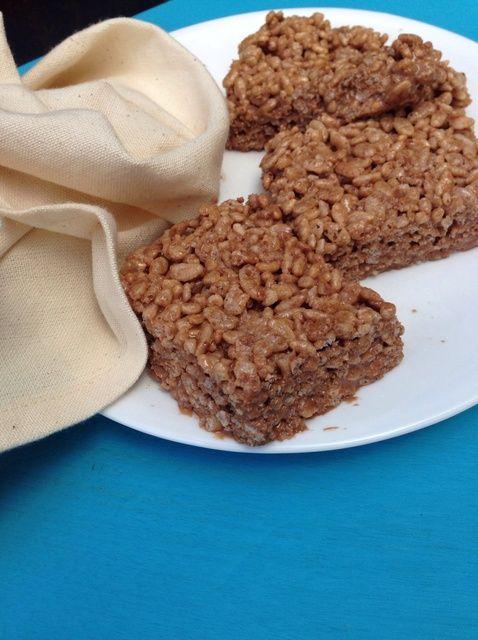 Cómo hacer Nutella-Miel Crispy Treats Receta