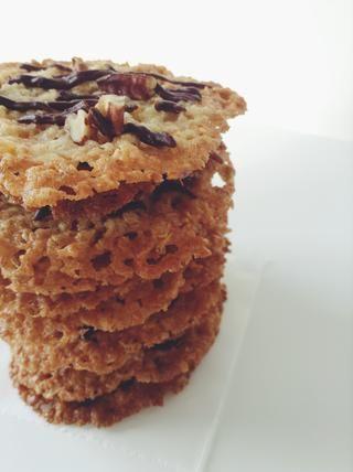 Otras formas de disfrutar de estos: Crumble de Helado, ellos sándwich con Nutella, o hacer sándwiches de helado!