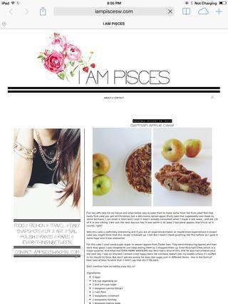 Gracias por ver! Para más recetas me visitan en iampiscesw.com