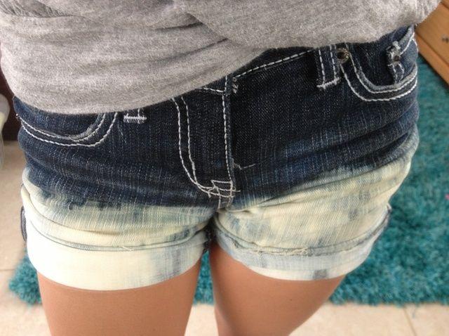 Cómo hacer Shorts Ombre