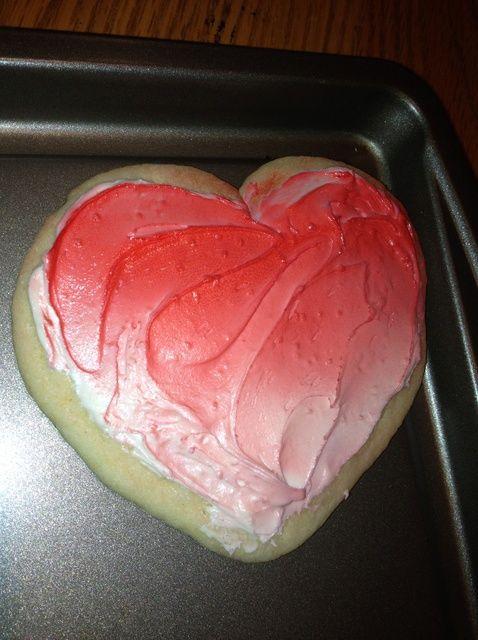 Cómo hacer Ombre Valentine Receta de las galletas