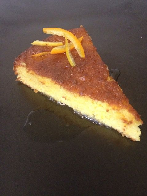 Cómo hacer Naranja almendra Receta de la torta