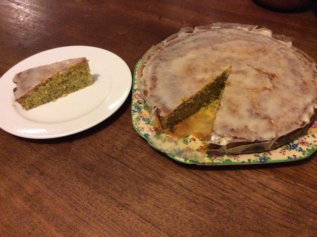 Cómo hacer Naranja Poppyseed Receta de la torta