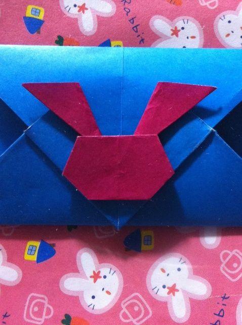 Cómo hacer Origami conejito Envelope