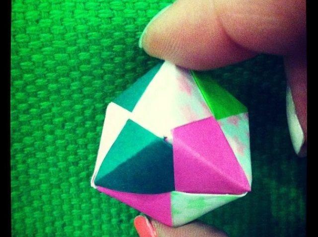 Cómo hacer Origami Sonobe Cube