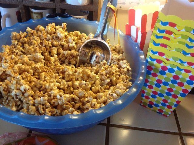 Cómo hacer Horno Caramel Corn Receta