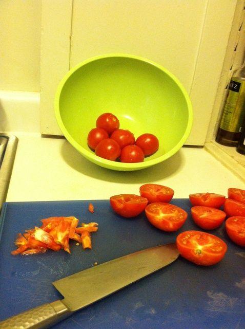 Cómo hacer Horno secos Receta Tomates