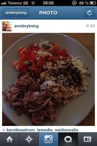 Servir con salmón Lomi Lomi (receta muy pronto!) Y el arroz blanco.