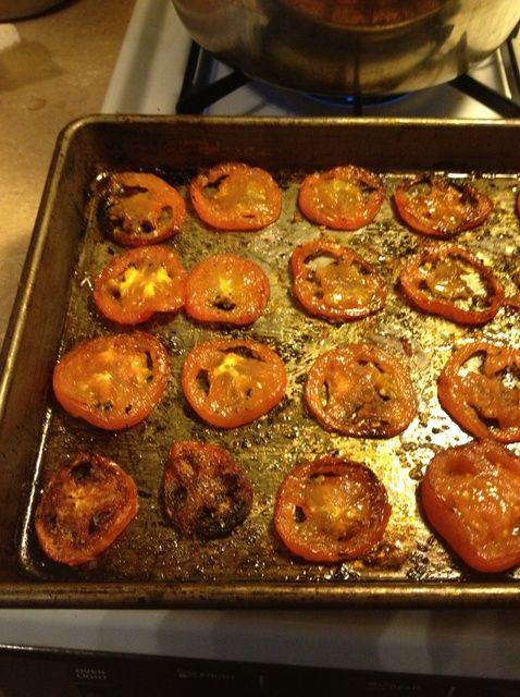 Cómo hacer asado al horno tomates Receta