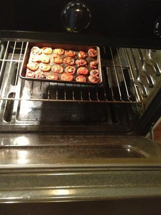 Póngalos en el horno, y dejar que ellos hornear por otros 25 a 35 minutos.