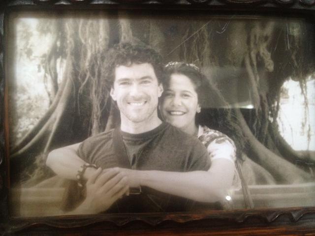 Blase y Gabriela, los padres.