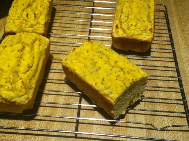 Cómo hacer Paleo limón semilla de amapola Pan Receta