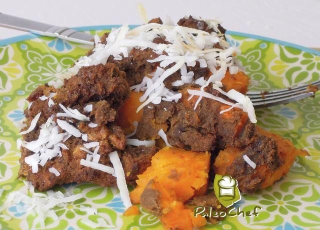 Rociar con jarabe de agave, cubra con coco y disfrutar! Un montón de variaciones fáciles con esta receta. Triturar las patatas dulces para una más brownie como el gusto, o trate de añadir a su mezcla de frutas secas favorita.