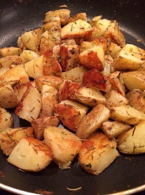 Cómo hacer Pan Roasted Potatoes Recipe
