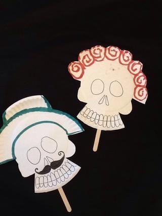 Aquí hay 2 ejemplos que muestran las caras básicos y opciones de arriba de la cabeza. Aviso, para el sombrero, un poco más de la placa se recorta!