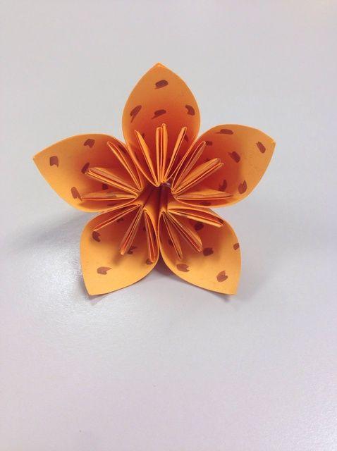 Cómo hacer papel / post-it Flores