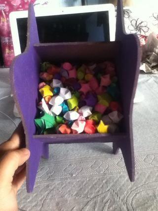O utilizarlo en una caja de regalo