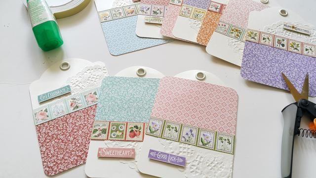Embellecer todas las etiquetas con las gráficas 45 papeles patrón y pegatinas