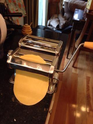 Alimente a través del fabricante de la pasta
