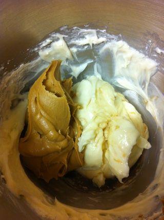 Y añadir 1 taza de mantequilla de maní y mezclar!