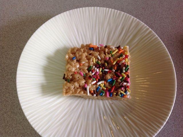 Cómo hacer mantequilla de cacahuete de Rice Krispies Receta