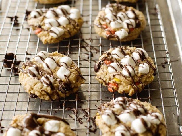 Cómo hacer la mantequilla de cacahuete Sundae Receta de las galletas
