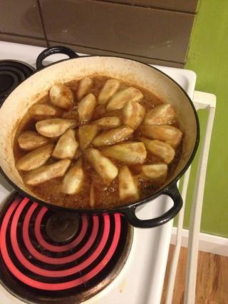 Las peras se hacen
