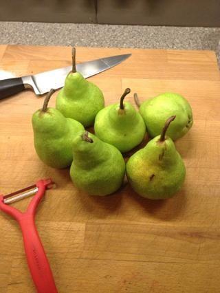 Obtener algunas peras