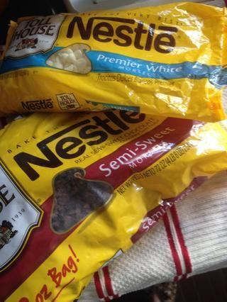 Tome el chocolate (blanco y leche)