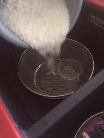 Colar el arroz