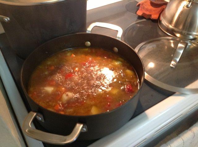 Cómo hacer Sopa peruana una Receta La Minuta