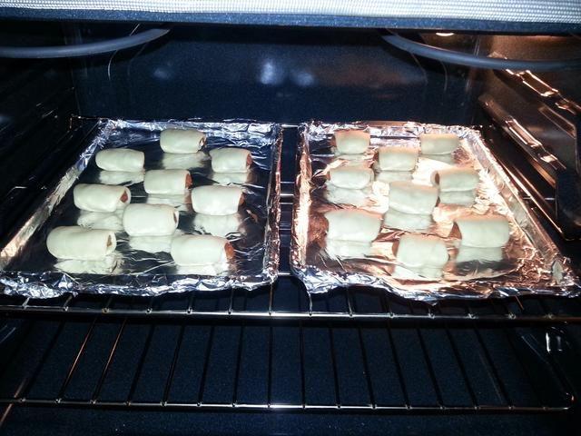 Coloque en el horno y dejar cocer durante 15 minutos.