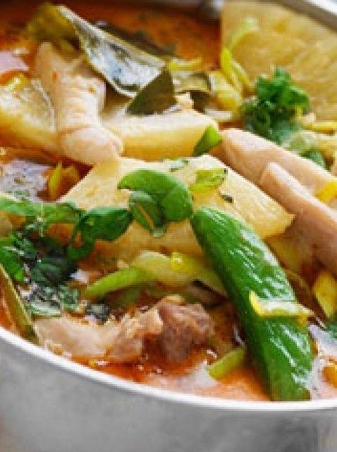 Cómo hacer piña y menta pollo Receta