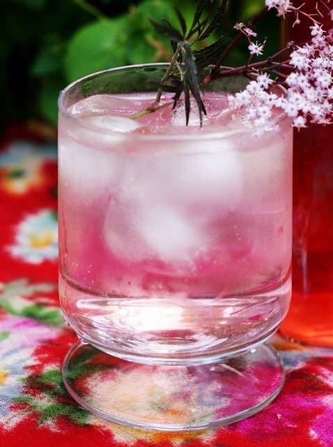 Cómo hacer Pink flor de saúco Receta Cordial