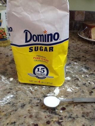 1 1/2 cucharadita de azúcar