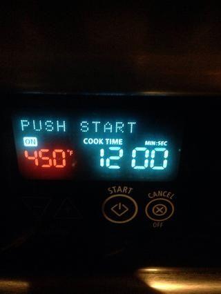 Hornee a 450F durante 12 minutos.